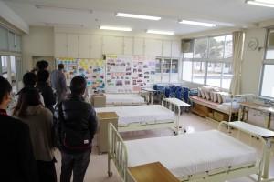 実習施設の見学(福祉ボランティアコース)