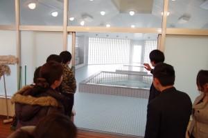 男子寮(浴室)