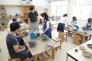 陶芸デザインコース(備前焼の皿づくり/タタラ成型)