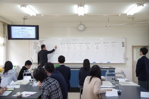 キャリアデザインコース(授業:一筆書きの数学)