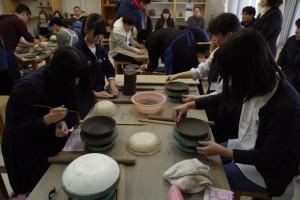 陶芸デザインコース(備前焼の皿づくり)