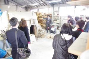 陶芸デザインコース実習室(備前焼き登り窯)