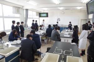 キャリアデザインコース(理科実験)