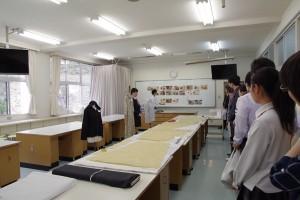 生活デザインコース実習室。