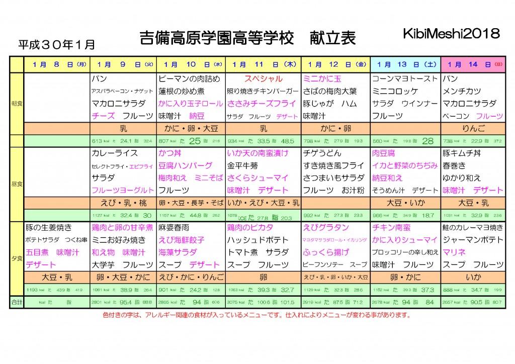 KibiMeshi20180108-0114