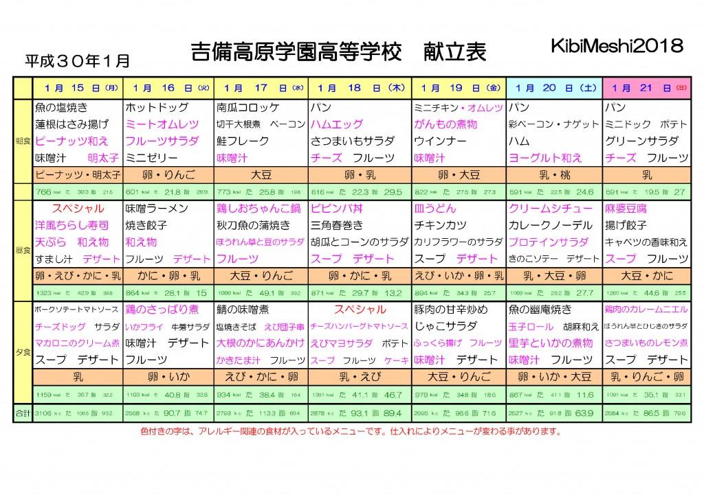 KibiMeshi20180115-0121