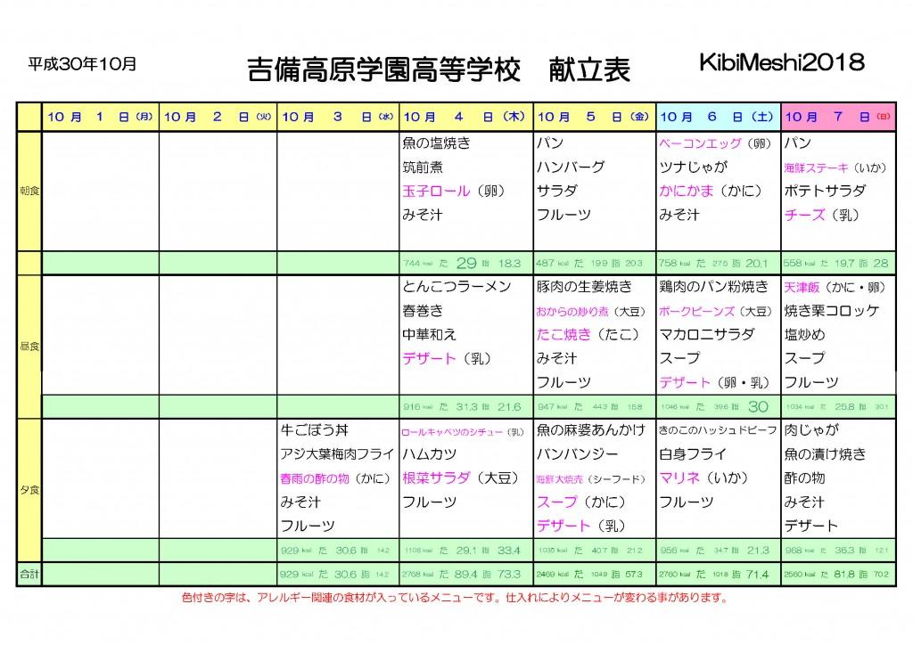 KibiMeshi20181003-1007