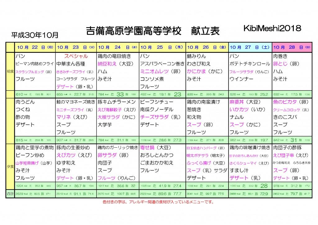 KibiMeshi20181022-1028