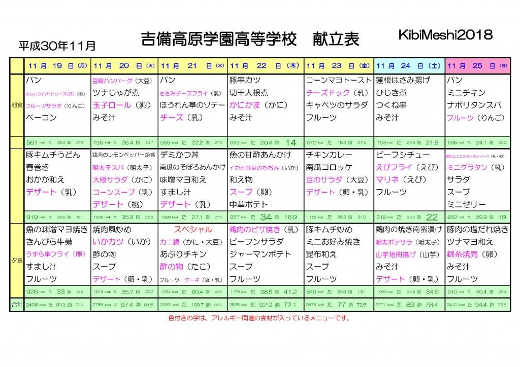 KibiMeshi20181119-1125