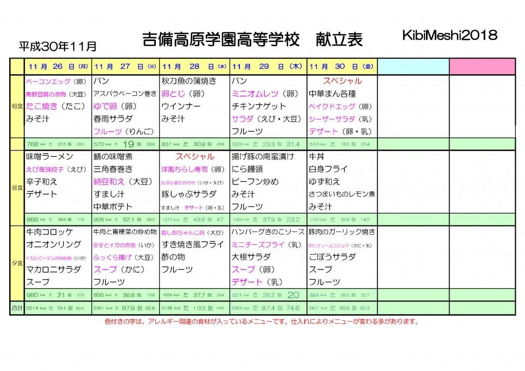 KibiMeshi20181126-1130