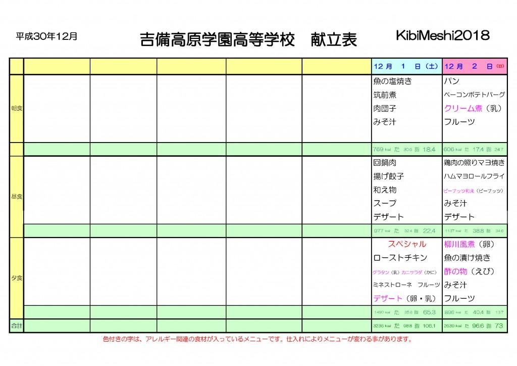 KibiMeshi20181201-1202