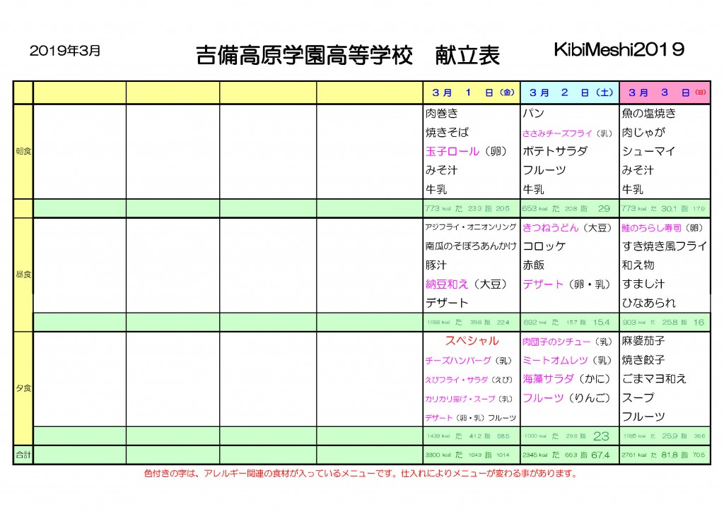 KibiMeshi20190301-0303