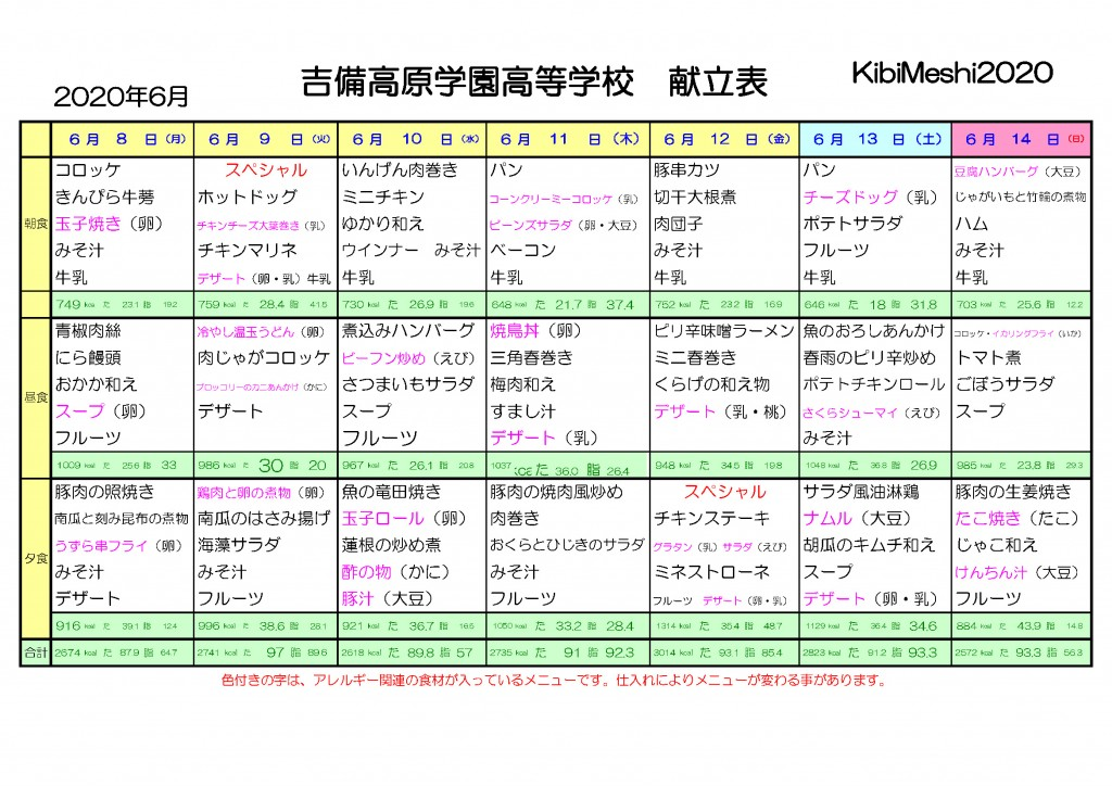 KibiMeshi20200608-0614
