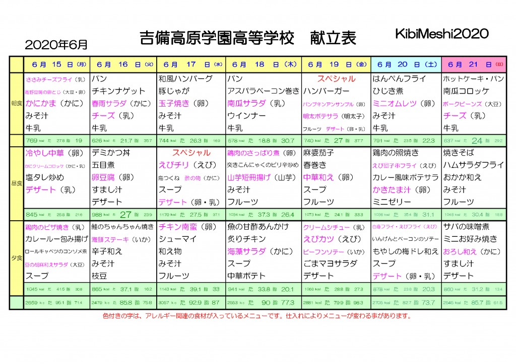 KibiMeshi20200615-0621