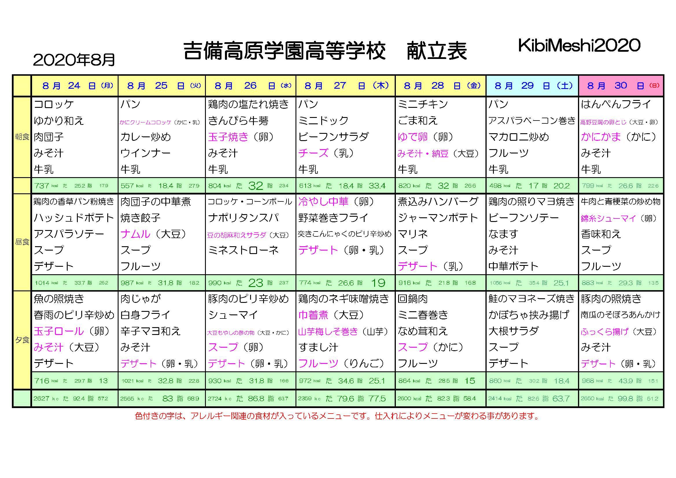 KibiMeshi20200824-0830