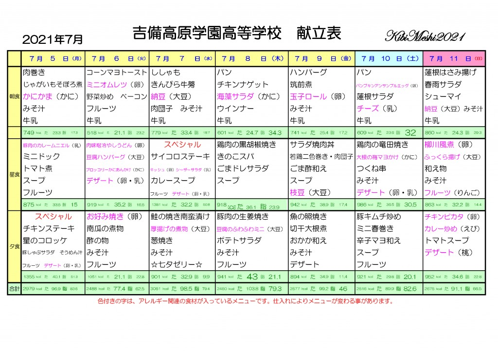 KibiMeshi20210705-0711