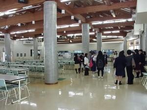 こちらは大食堂(広~い!)
