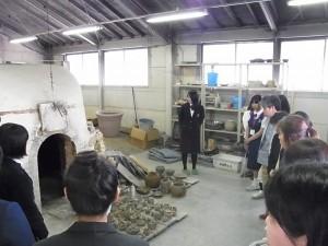 陶芸デザインコース焼成実習室(登り窯)