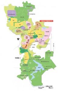 吉備高原都市地図